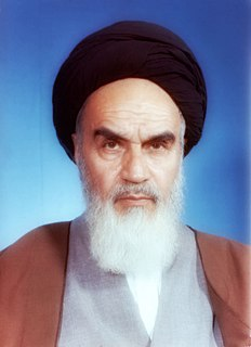 Ruhollah Khomeini First Supreme Leader of Iran from 1979 to 1989