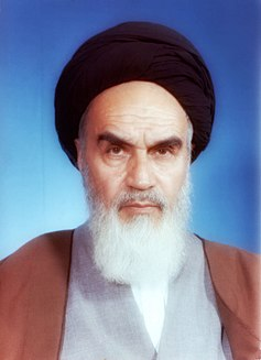 Ruhollah Khomeini 20th-century Iranian religious leader and politician