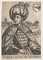 Portret van Abbas I, sjah van Perzië, RP-P-OB-76.105.jpg