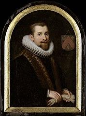 Portrait of Floris Gerritsz Overrijn van Schoterbosch (c.  1562-1618)