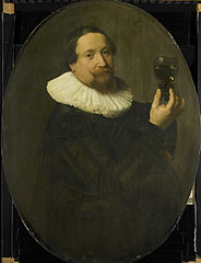 Portrait of Maerten Rey (1595/96-1632)