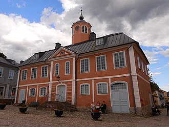 Porvoo - The old Porvoo Town Hall, which is now a museum