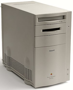 Power Macintosh 8100 - A Power Macintosh 8100/80AV