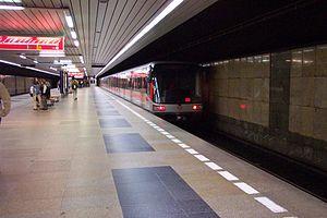 Budějovická (Prague Metro) - Budějovická metro station