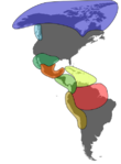 Major cultural areas of the pre-Columbian Americas