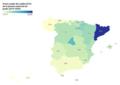 Precio del crédito de grado en España por comunidad autónoma 2019-2020.png