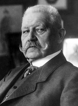 1932 German presidential election - Image: President Hindenburg