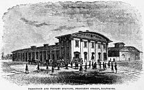 President Street Station - Baltimore 1856.jpg