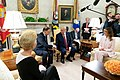 President Trump and the First Lady Visit with the President of Poland and Mrs. Duda (48055474183).jpg