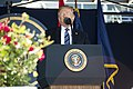 President Trump at U.S. Naval Academy Graduation and Commissioning Ceremony 2018 05.jpg