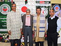 President of BHESA with guests at BHESA's Ekushey February 2015.jpg