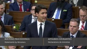 Fitxategi:Prime Minister Trudeau delivers remarks on the terrorist attack in Christchurch, New Zealand.webm