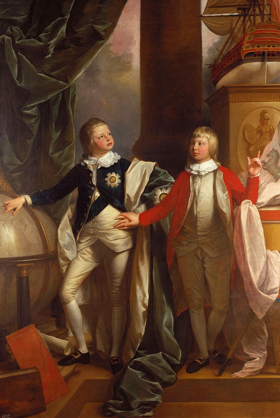 Prince William and Prince Edward 1778