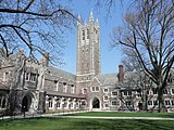 A picture of Rockefeller College