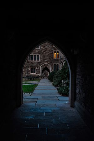 Princeton, New Jersey - The Princeton campus, December 2016