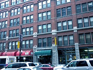 English: Franklin Building on S. Dearborn in C...