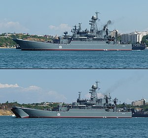 English: Project 775M Ropucha-II class russian...