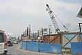 Proposed Hemanta Mukherjee Metro Station Under Construction - Eastern Metropolitan Bypass - Kolkata 2016-06-23 5111.JPG