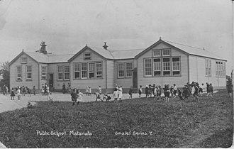 Matamata - Image: Public School Matamata (Smales' series 7)