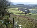 Public footpath to Obley and the Redlake valley - geograph.org.uk - 654330.jpg