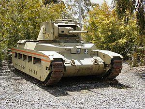 Puckapunyal - A Matilda II tank at the Puckapunyal Tank Museum
