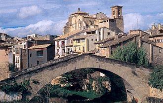 Estella-Lizarra - Picudo Bridge in Estella