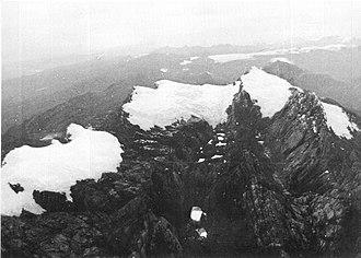 Puncak Jaya - Puncak Jaya icecap 1972