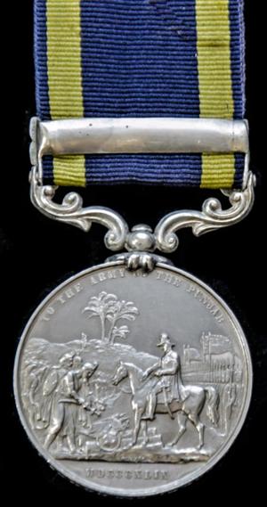 Punjab Medal - Image: Punjab Medal 1848 49 Reverse