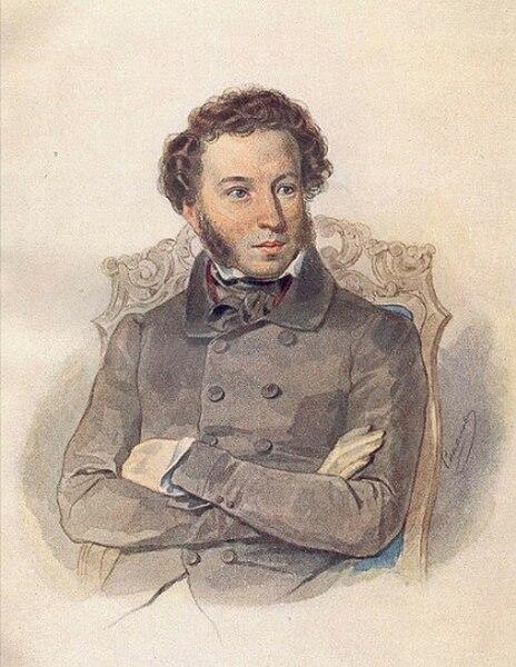 Pushkin Alexander by Sokolov P.
