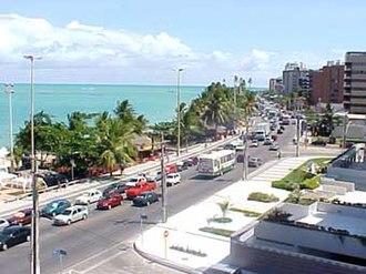 Alagoas - Ponta Verde Beach in Maceió.