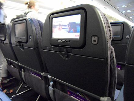 iQ entertainment system on the A330. Qantasiqa330.JPG