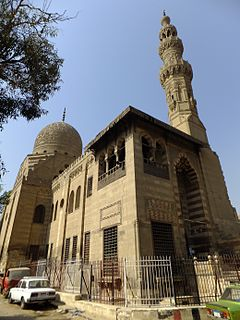 Complex of Sultan al-Ashraf Qaytbay mosque in Egypt