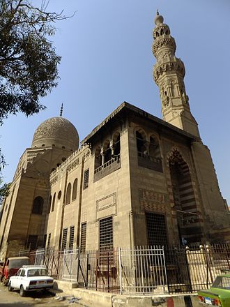 Complex of Sultan al-Ashraf Qaytbay - Sultan Qaytbay's mosque and mausoleum complex.