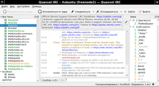 Quassel IRC 2020 wmaker.png