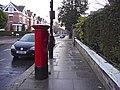 Queen Elizabeth II Pillar Box, Priory Road, London NW6 - geograph.org.uk - 1128491.jpg
