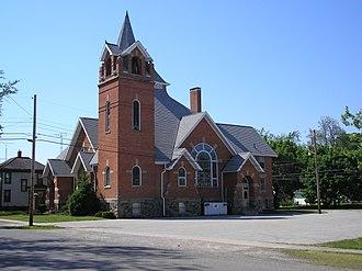Quincy, Ohio - Image: Quincy United Methodist Church