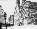 Rådhuset i Rothenburg med Herterichfontänten - TEK - TEKA0116853.tif