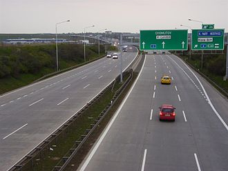 D0 motorway (Czech Republic) - Image: R1 u Rep