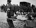 RAMC 801-22-34 Wounded soldier being carried Wellcome L0031175.jpg