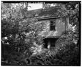 REAR (WEST) WALL, LOOKING NORTHEAST - Allen House, 2711 Park Avenue, Cincinnati, Hamilton County, OH HABS OHIO,31-CINT,67-6.tif