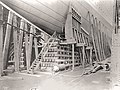 RMS Olympic, bow cradle and hydraulic launching gear (31262825981).jpg