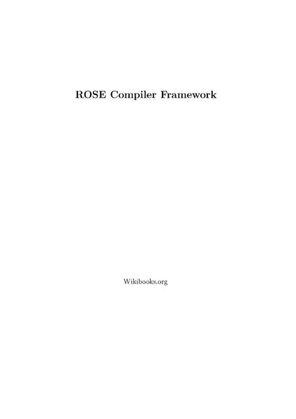 File:ROSE Compiler Framework Print version.pdf