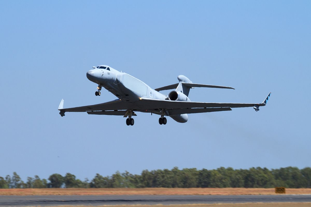 RSAF G550-AEW Aircraft, photo by 'Alert5', CC BY-SA 4.0, via Wikimedia Commons