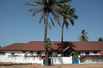 Telecommunications in the Gambia - Radio Syd near Banjul