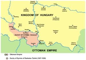 Radoslav Čelnik - Radoslav Čelnik's province (1527–30)
