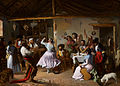 Rafael Benjumea Dance at a Country Inn 1850.jpg