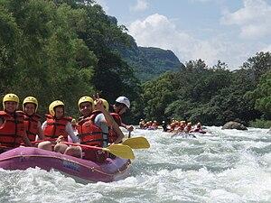 Jalcomulco - Rafting in Río Antigua
