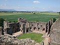 Raglan Castle from a tower - geograph.org.uk - 1768026.jpg