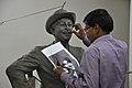 Raj Kapoor Statue In Progress - Kolkata 2017-08-08 4144.JPG