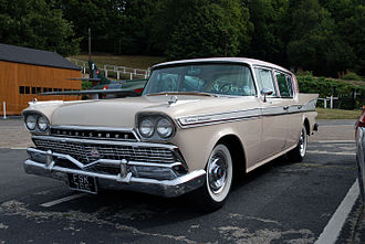 AMC Ambassador - 1958 Ambassador V8, Custom sedan